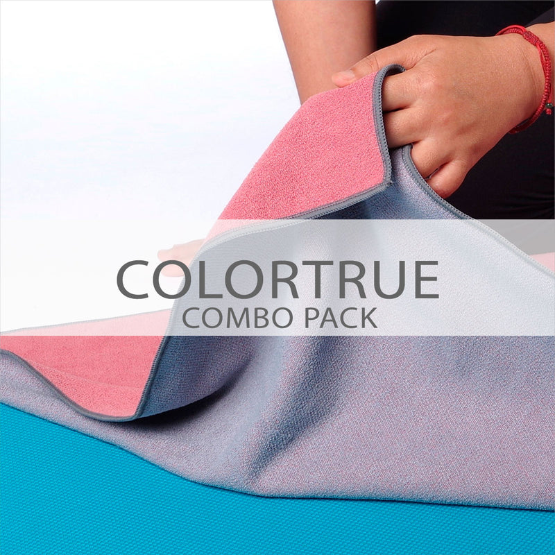 ColorTrue Yoga Towel Combo Pack