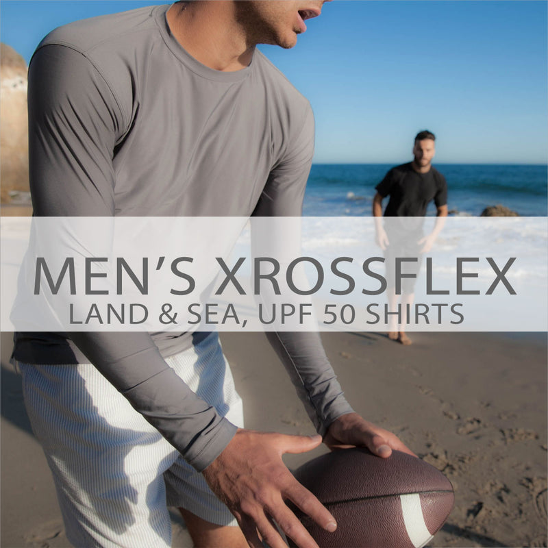 Men's XrossFlex Land & Sea, UPF 50 Shirt