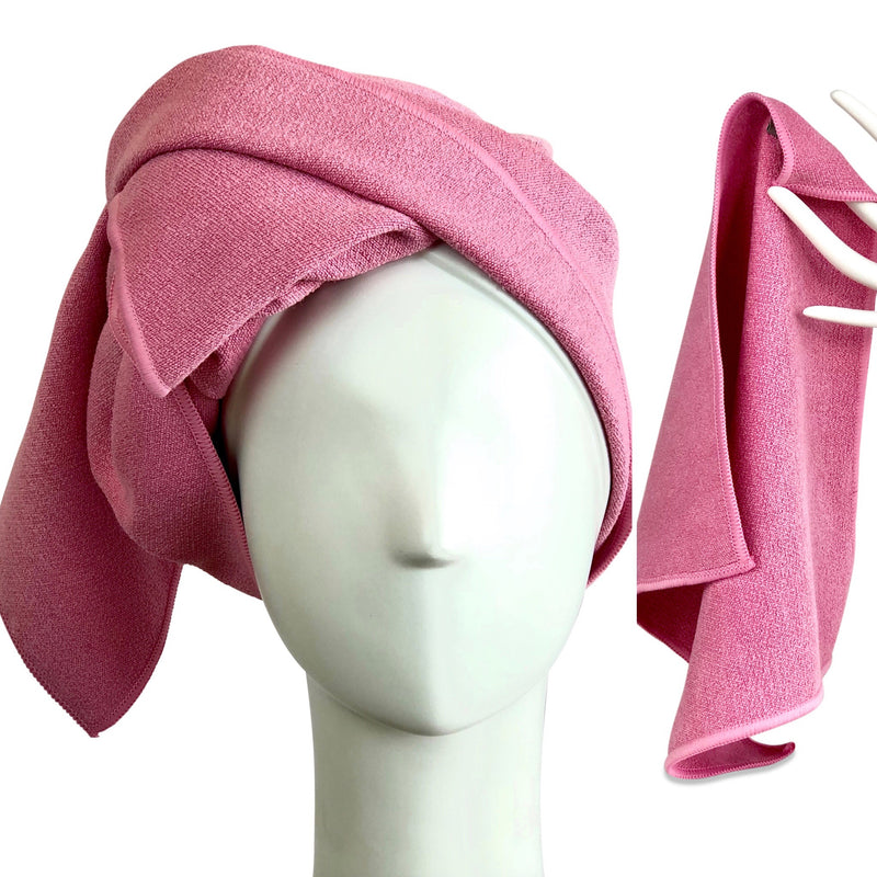 Bee Dry Microfiber Hair Towel + Face Towel Set