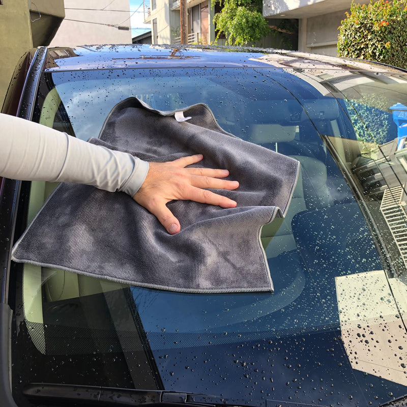Car Kleen Wash n' Dry Microfiber Towel Kit
