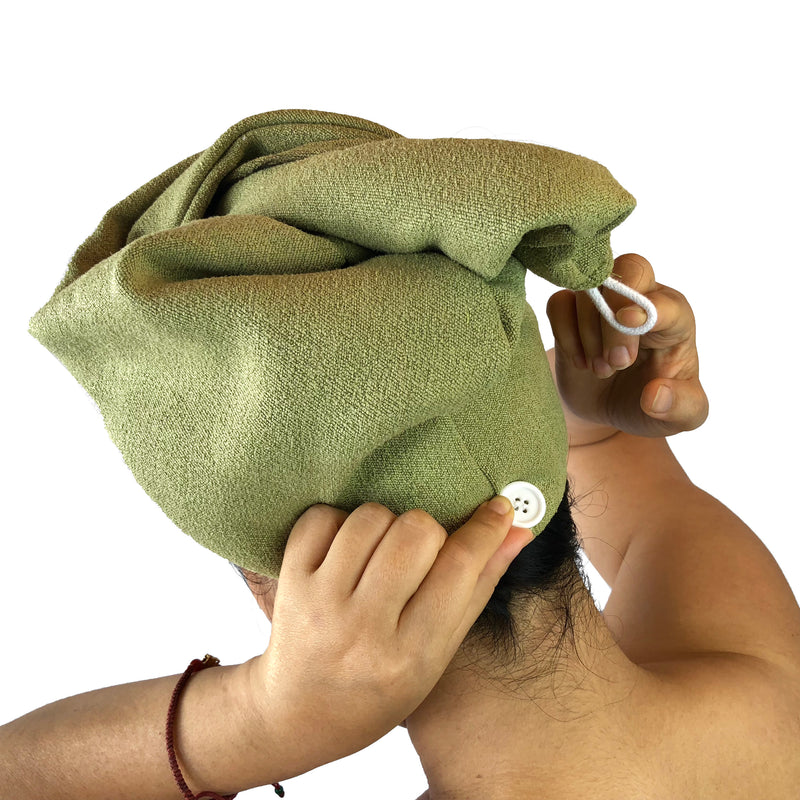 Bee Fine Face towel + Hair Turban