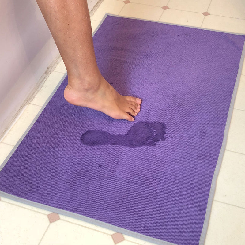 Clear Kleen Gummy Grip Bath Rug