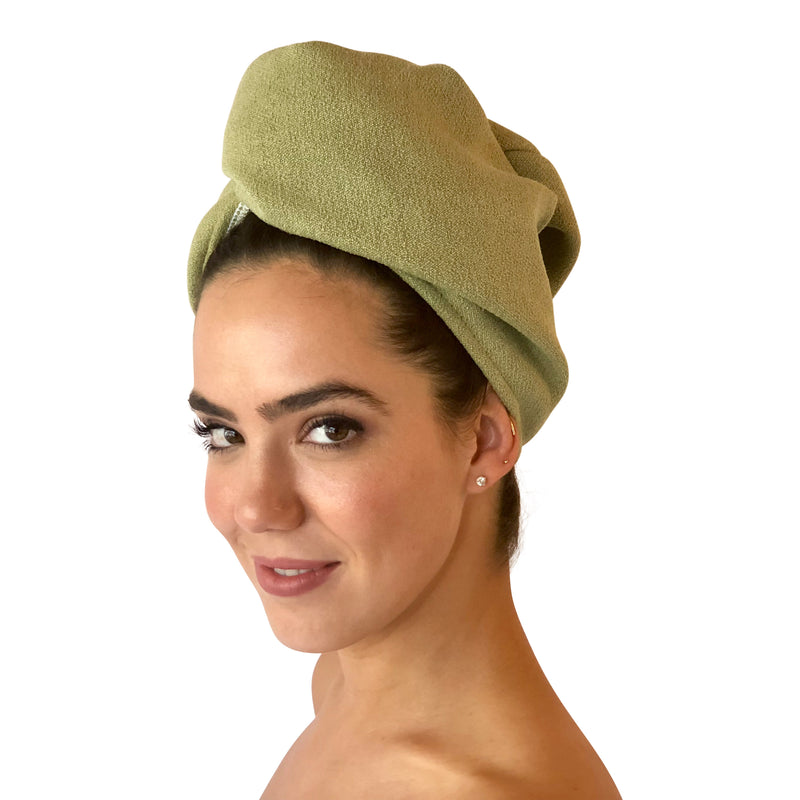 Bee Dry Microfiber Hair Turban 2 pack