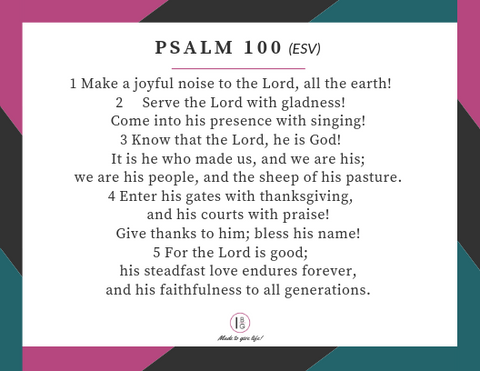 scripture memory cards for Psalms