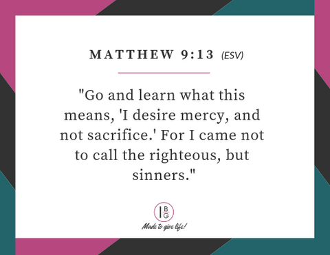 Mercy Topical Bible Reading Plan and Scripture Memory Cards
