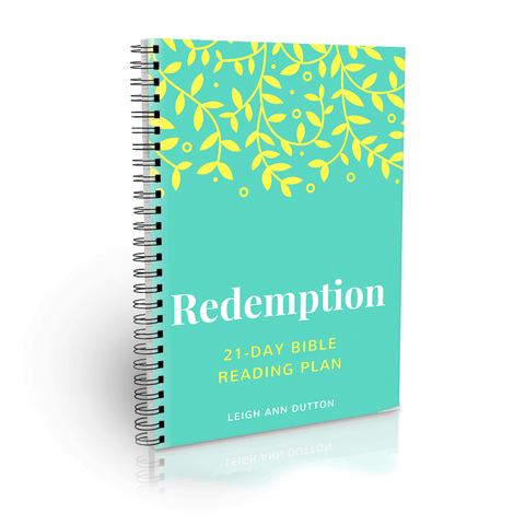 Redemption Topical Bible Reading Plan
