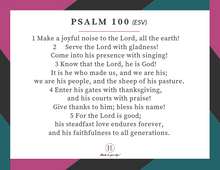 60-Day Psalms Bible Reading Plan Journal (Digital)