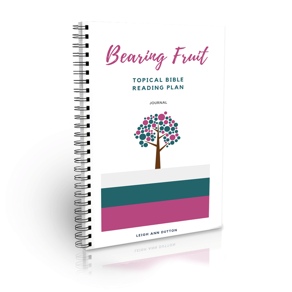 Bearing Fruit Bible Reading Plan Journal (Digital)