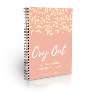Cry Out! Bible Reading Plan Journal (Digital)