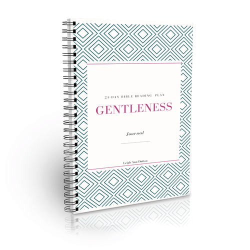 Gentleness Bible Reading Plan Journal (Digital)