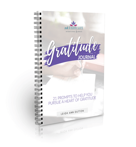 Gratitude Journal: 21 Prompts to Help You Pursue a Heart of Gratitude (Digital)