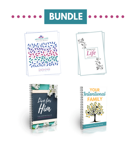 2020 Intentional Homeschool Bundle (Digital)