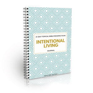 Intentional Living Bible Reading Plan Journal