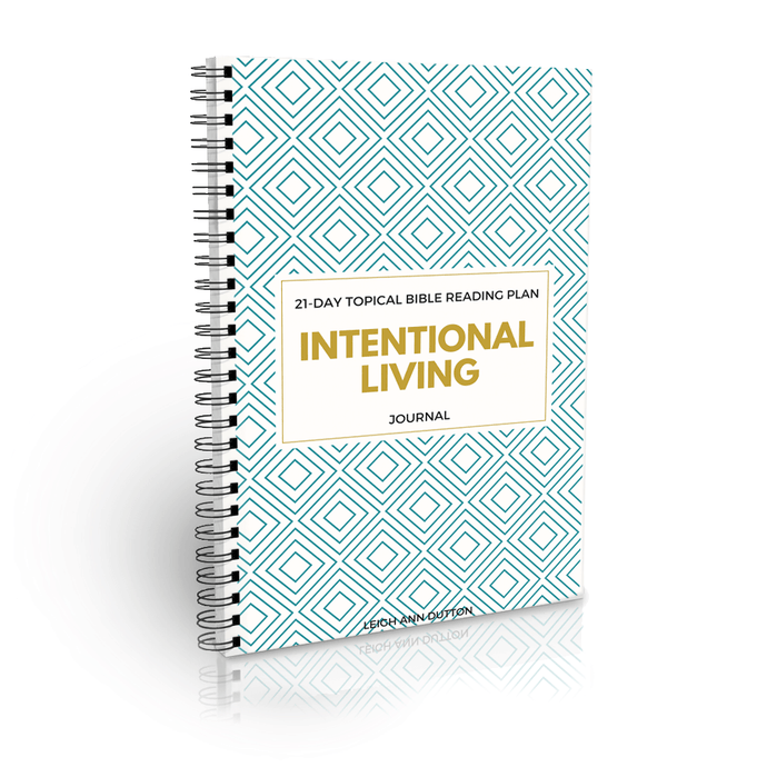 Intentional Living Bible Reading Plan Journal (Digital)