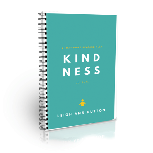 Kindness Bible Reading Plan Journal