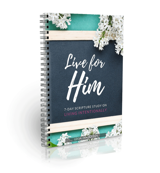 7-Day Scripture Study on Living Intentionally eBook