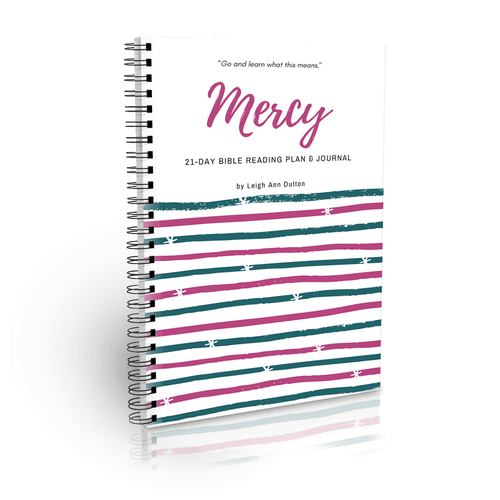 Mercy Topical Bible Reading Plan Journal