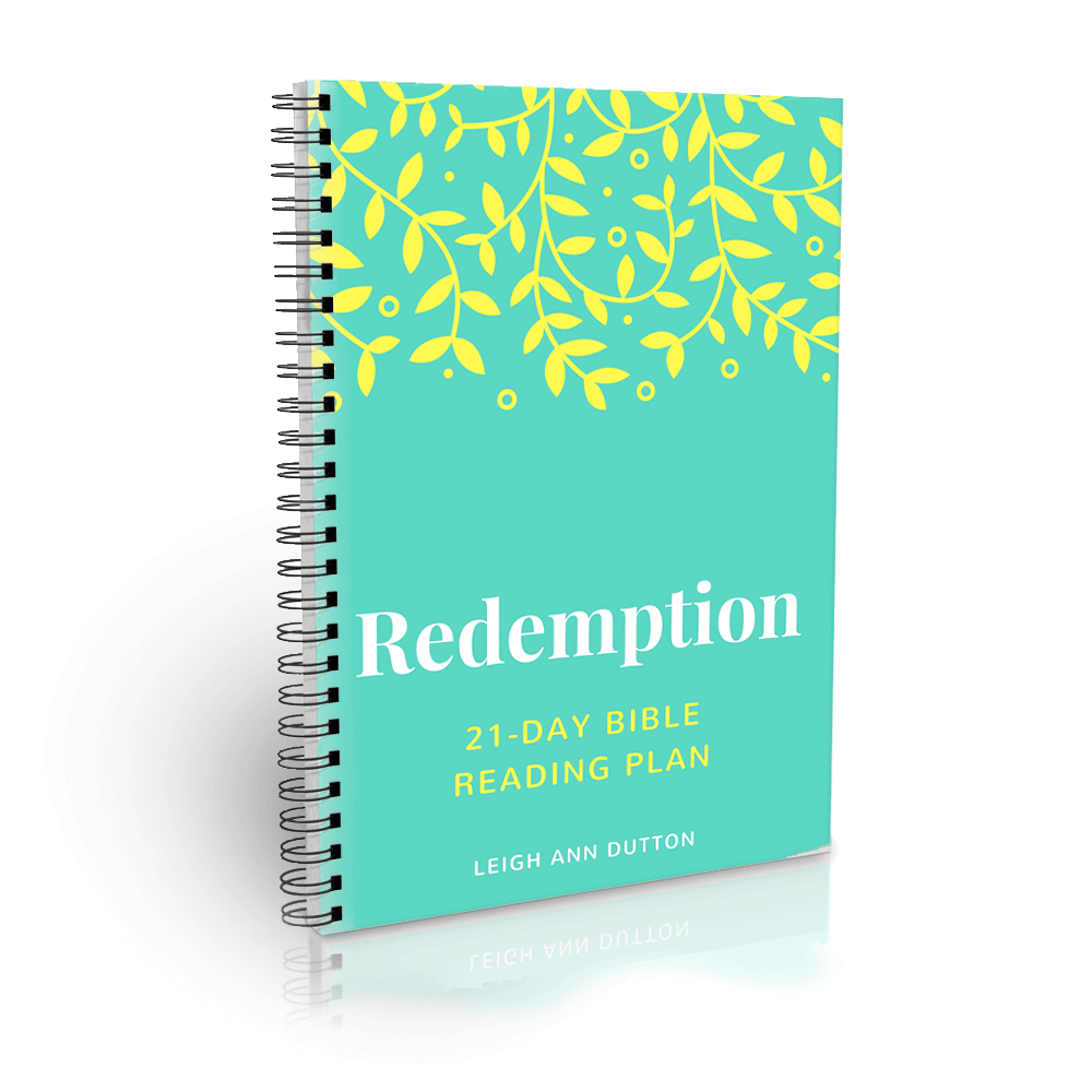 Redemption Bible Reading Plan Journal (Digital)
