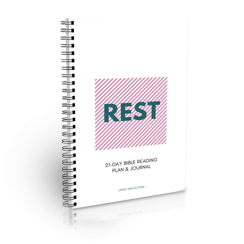Rest Topical Bible Reading Plan Journal