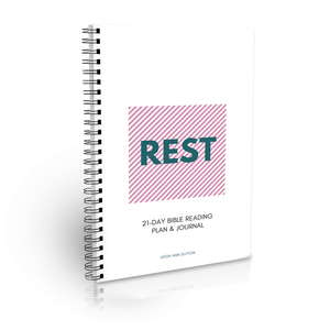 Rest Bible Reading Plan Journal (Digital)