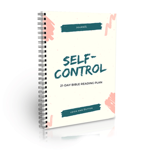 Self-Control Bible Reading Plan Journal (Digital)