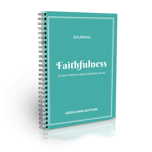 His Faithfulness Bible Reading Plan Journal (Digital)
