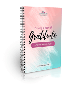 Pursuing a Heart of Gratitude 7-Day Scripture Study (Digital)