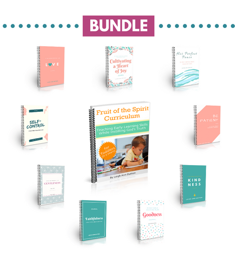 Fruit of the Spirit Grow Together Bundle (Digital)