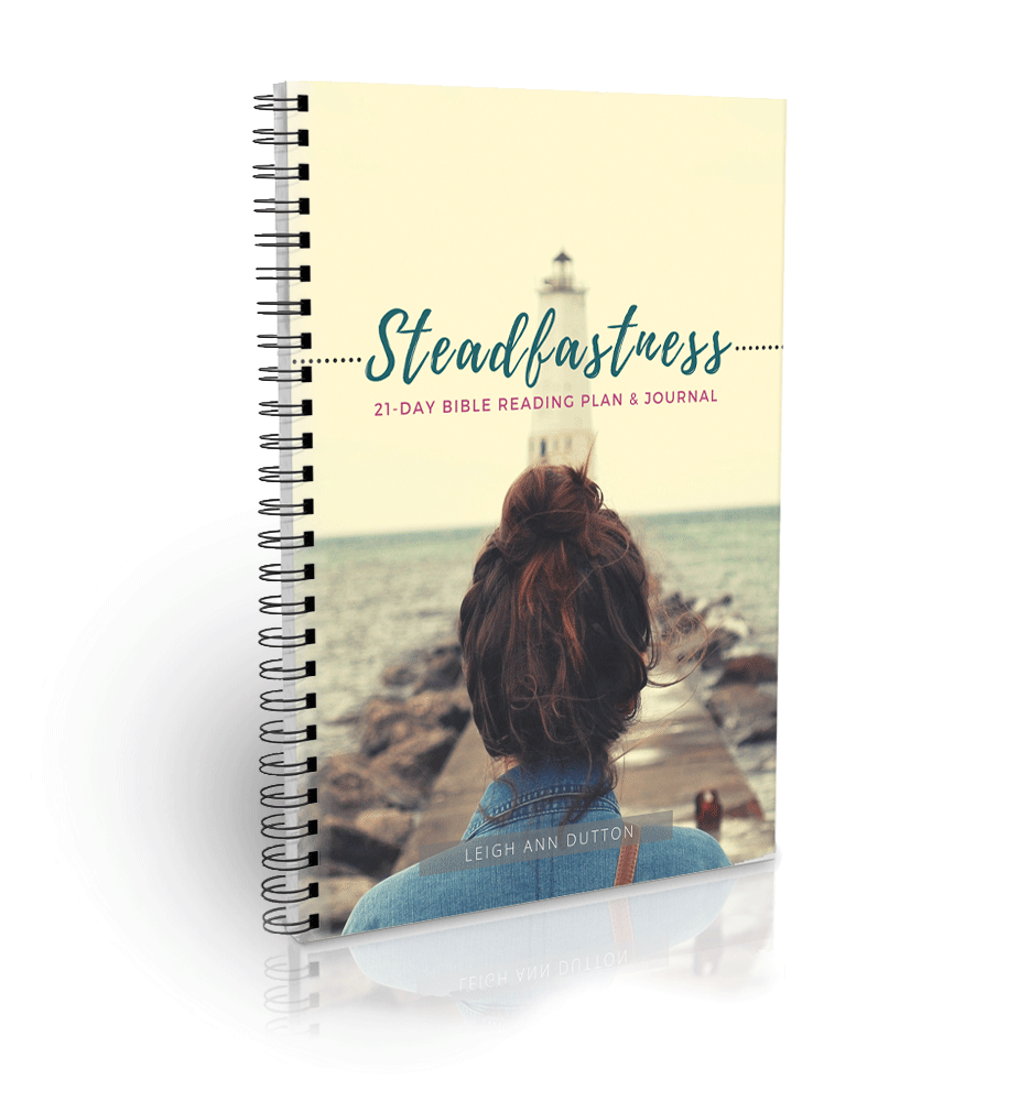 Steadfastness Bible Reading Plan Journal (Digital)