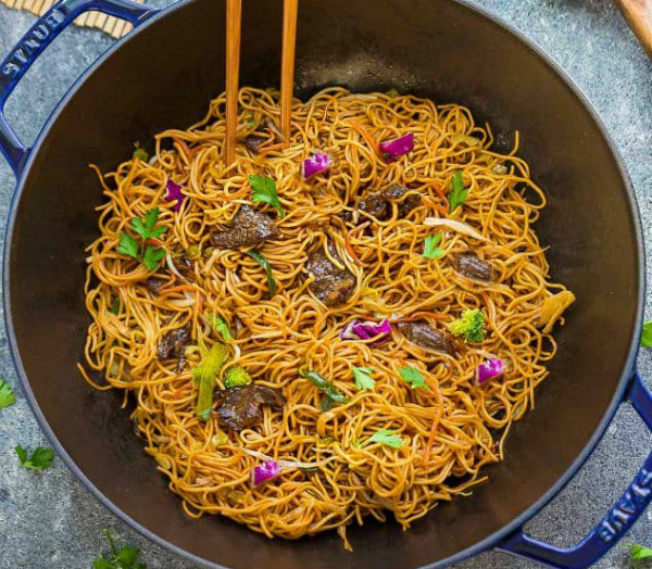 FuelMe Meal:Beef Chow Mein