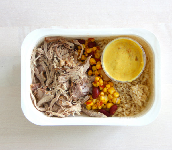FuelMe Meal:	Pulled Pork Burrito Bowl
