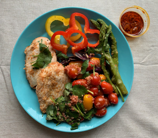 FuelMe Meal:	Chicken Harissa