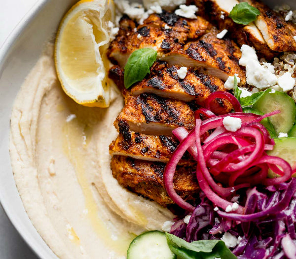FuelMe Meal:	Chicken Hummus Bowl