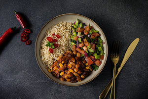 VEGAN CUBAN BEAN BOWL