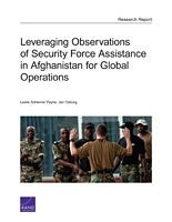 Leveraging Observations of Security Force Assistance in Afghanistan for Global Operations