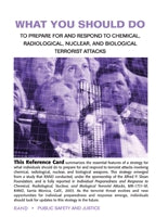What You Should Do to Prepare for and Respond to Chemical, Radiological, Nuclear, and Biological Terrorist Attacks: Pocket Edition Survival Guide