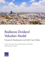 Resilience Dividend Valuation Model: Framework Development and Initial Case Studies