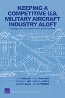 Keeping a Competitive U.S. Military Aircraft Industry Aloft: Findings from an Analysis of the Industrial Base