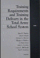 Training Requirements and Training Delivery in the Total Army School System