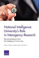 National Intelligence University's Role in Interagency Research: Recommendations from the Intelligence Community