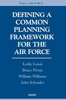 Defining a Common Planning Framework for the Air Force