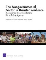 The Nongovernmental Sector in Disaster Resilience: Conference Recommendations for a Policy Agenda