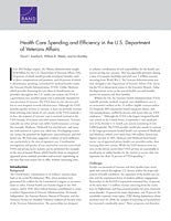 Health Care Spending and Efficiency in the U.S. Department of Veterans Affairs