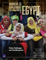 Barriers to Employment That Women Face in Egypt: Policy Challenges and Considerations