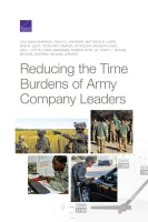 Reducing the Time Burdens of Army Company Leaders