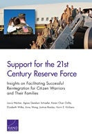 Support for the 21st-Century Reserve Force: Insights to Facilitate Successful Reintegration for Citizen Warriors and Their Families