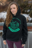 Seafoam/black Night moon Hoodie