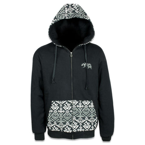 Tundra Removable Bear Zip Up Hoodie