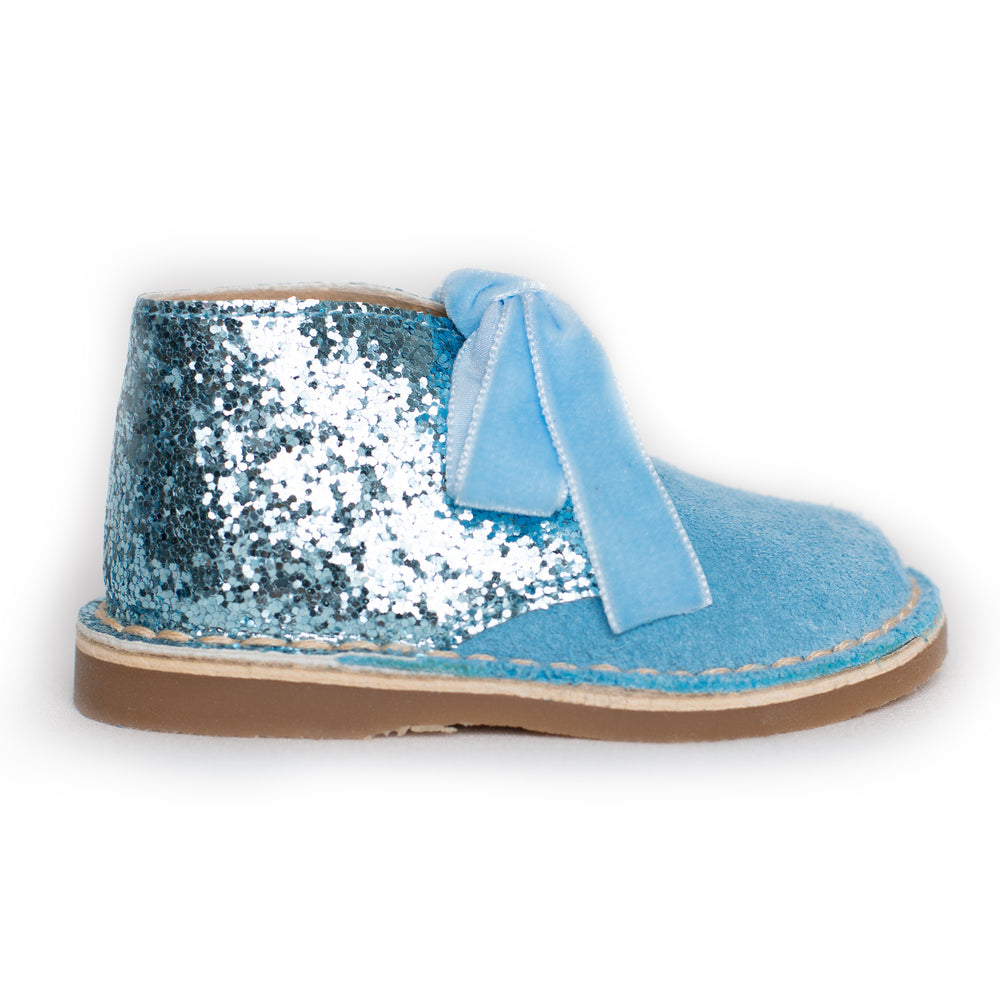 AW18 Rochy Blue Glitter Boots - dainty delilah spanish childrens wear