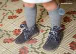 AW18 Rochy Grey Glitter Boots - dainty delilah spanish childrens wear